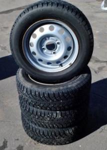 Размер колес и резины Гранта